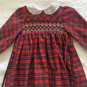 Vintage hand smocked dress